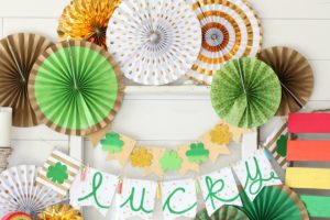 Lucky St. Patrick's Day Mantel Decor