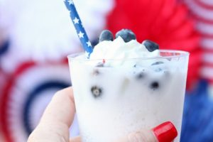 DIY Patriotic Italian Soda Bar
