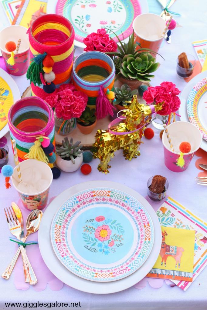 Boho Fiesta Table Setting