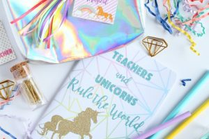 Unicorn Teacher Appreciation Gift