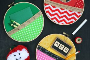 Embroidery Hoop Teacher Gifts