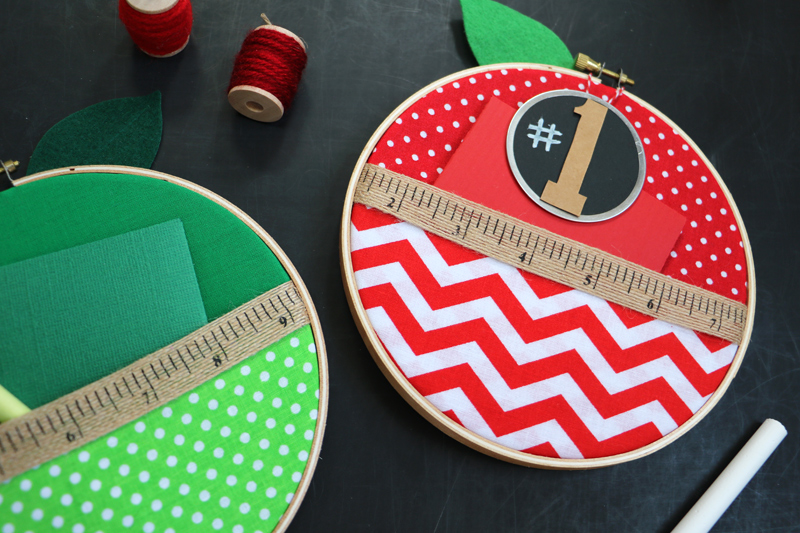 Embroidery Hoop Teacher Gifts