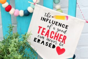 DIY Teacher Appreciation Pennant Banner