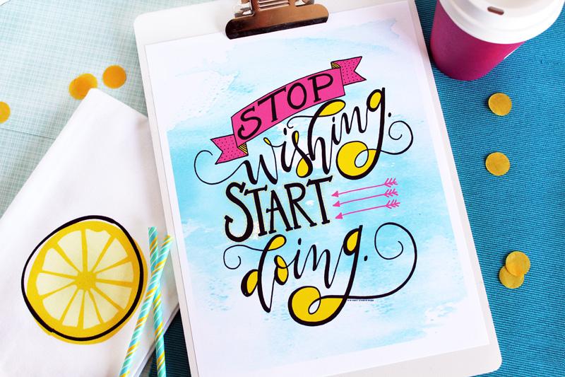 Inspirational summer print2