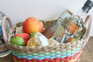 Everyday Party Magazine Peach Margarita Gift Basket