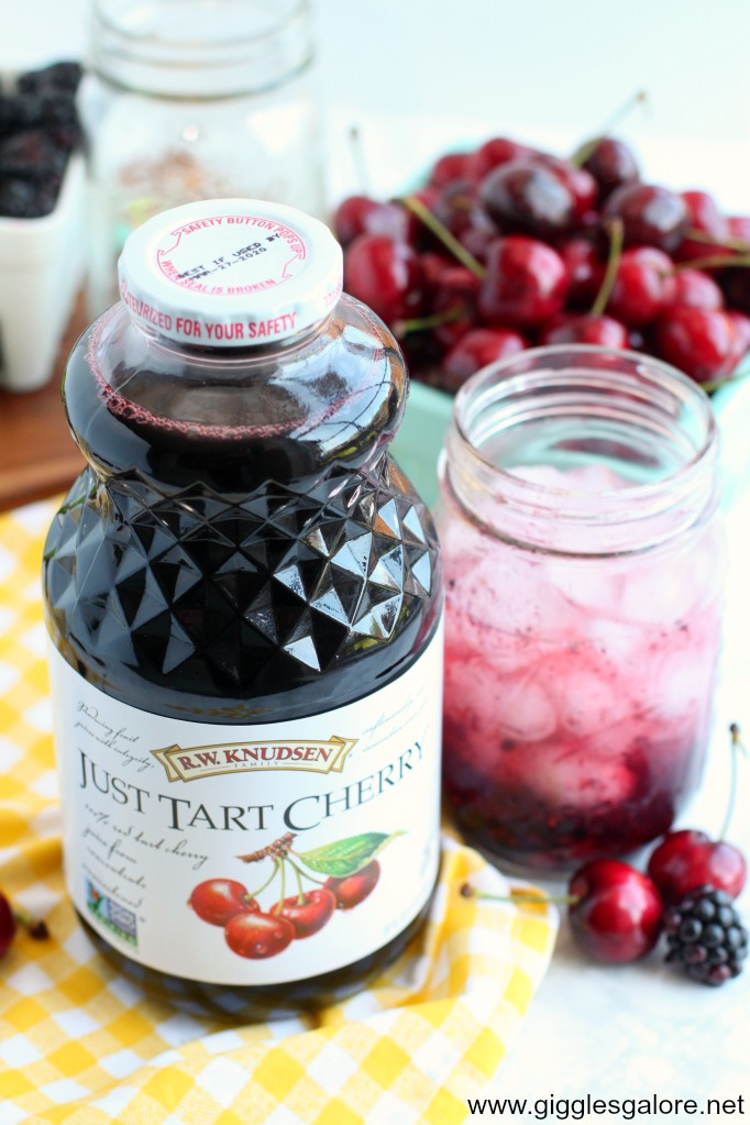 Just tart cherry lemonade
