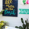 DIY Summer Porch Sign