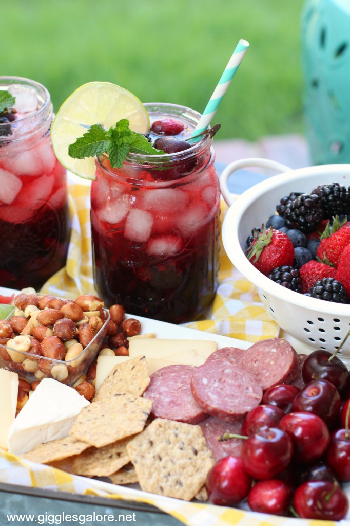 Perfect picnic drink