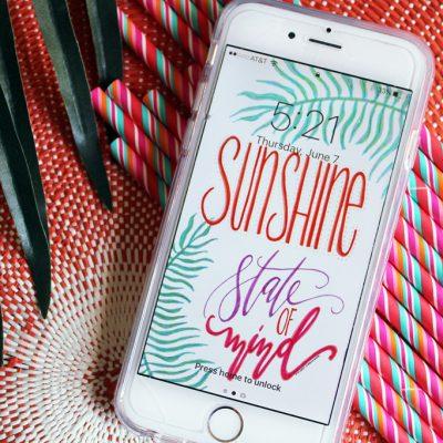 FREE Summer Cell Phone Wallpaper