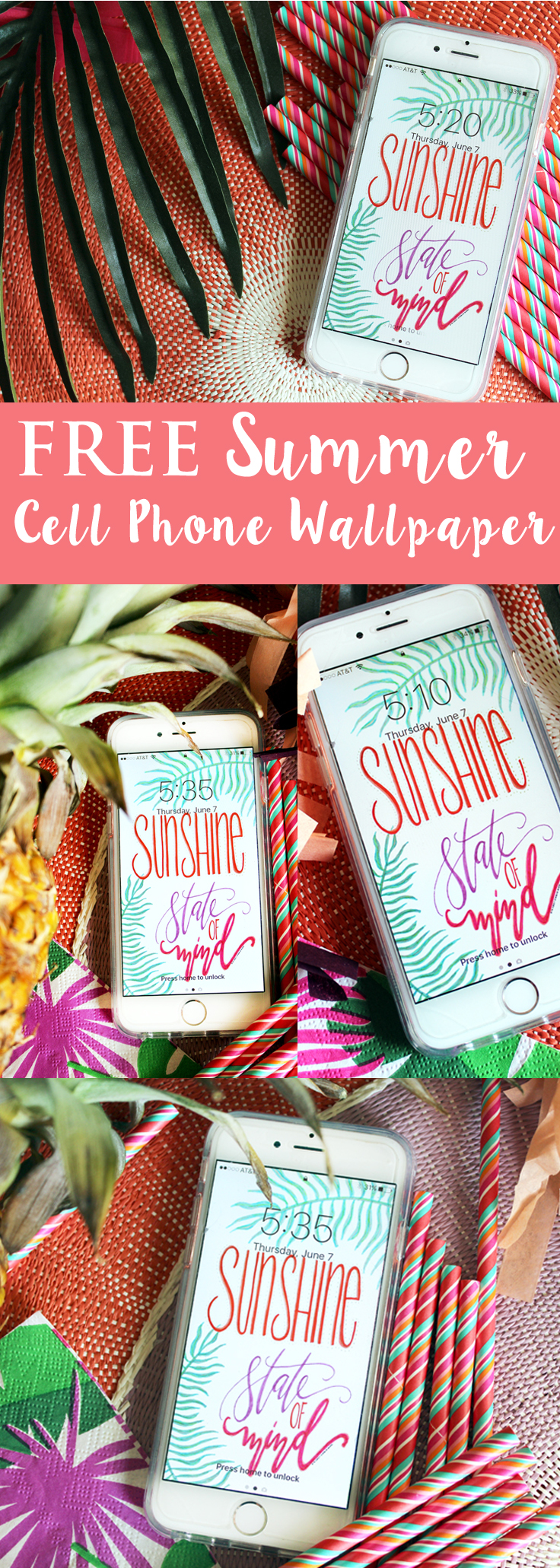 Summer phone wallpaper pinterest
