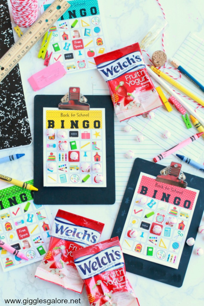 Back to School Bingo Game Free Download