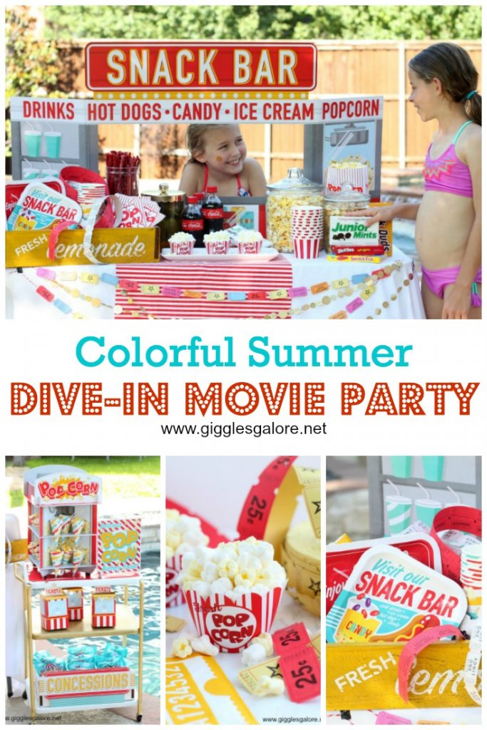 Summer Dive-In Movie