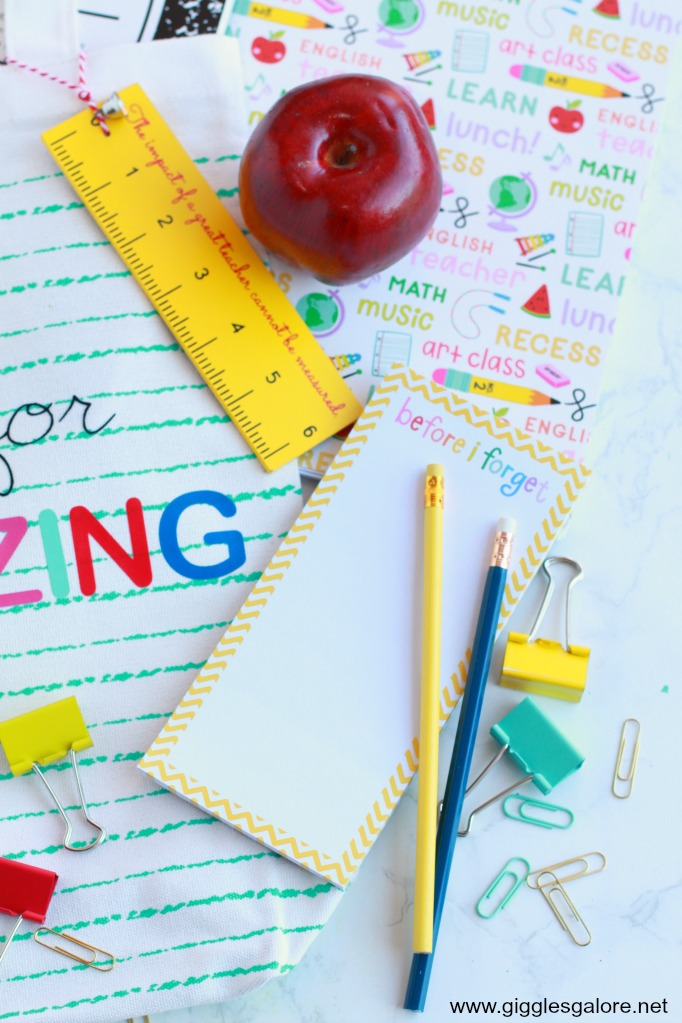 Colorful Teacher Supplies