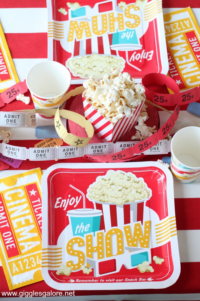 Vintage Movie Party Supplies