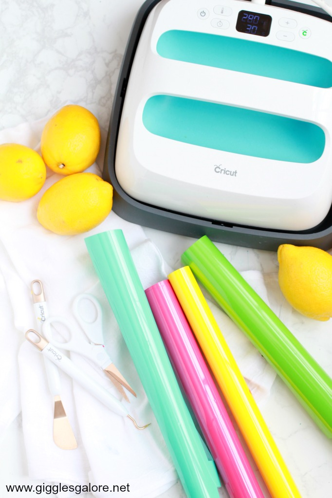 Cricut iron on supplies