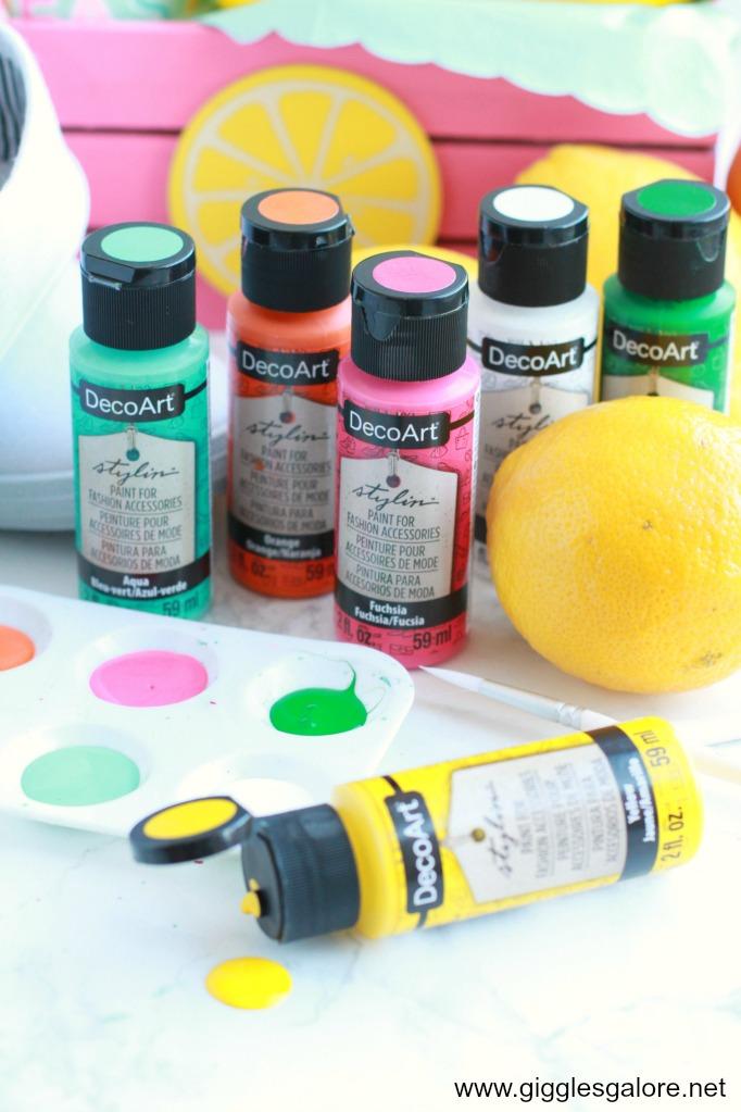 Decoart stylin paint gg