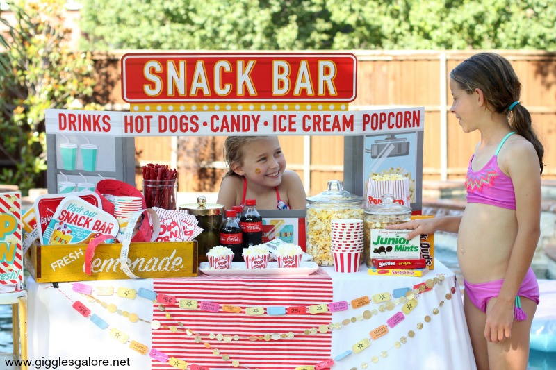 Summer Dive-In Movie Snack Bar