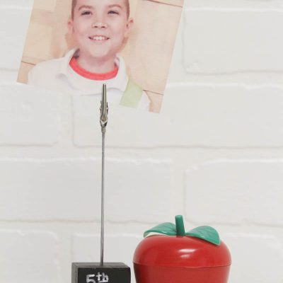 Back to School Picture Holder