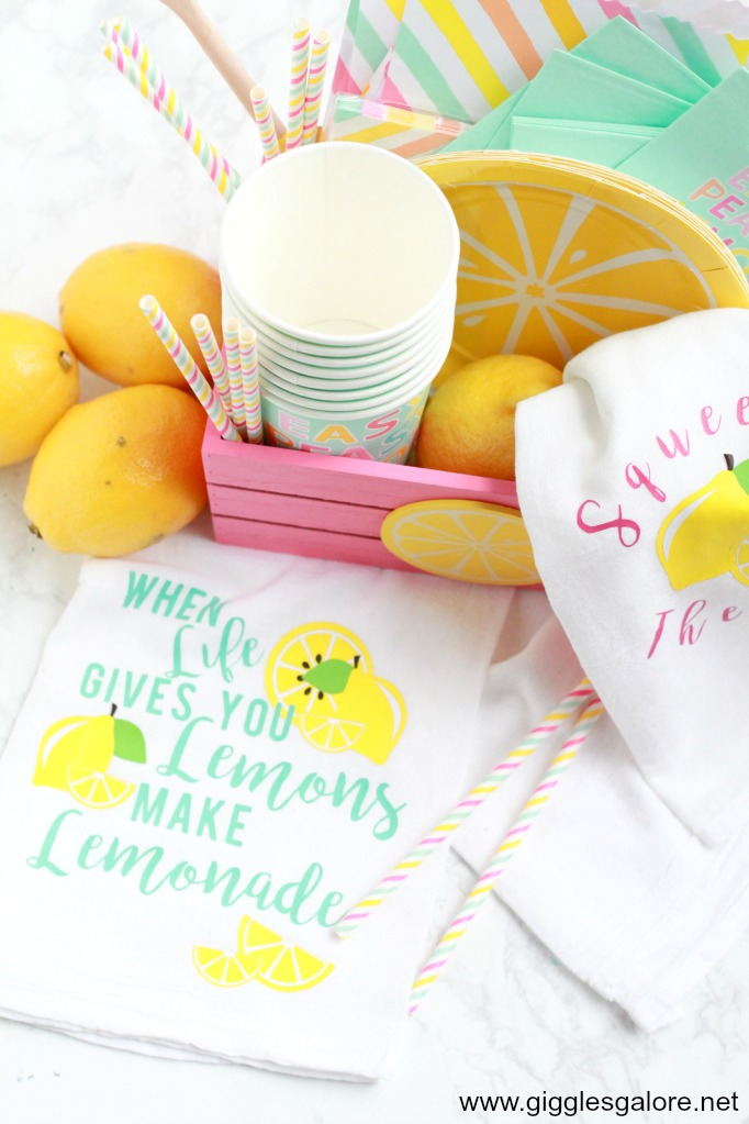 Lemonade gift basket