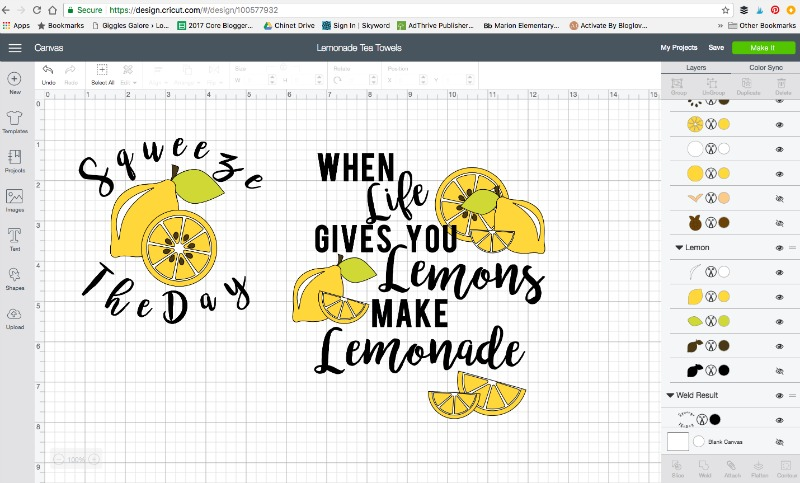 Lemonade svg design