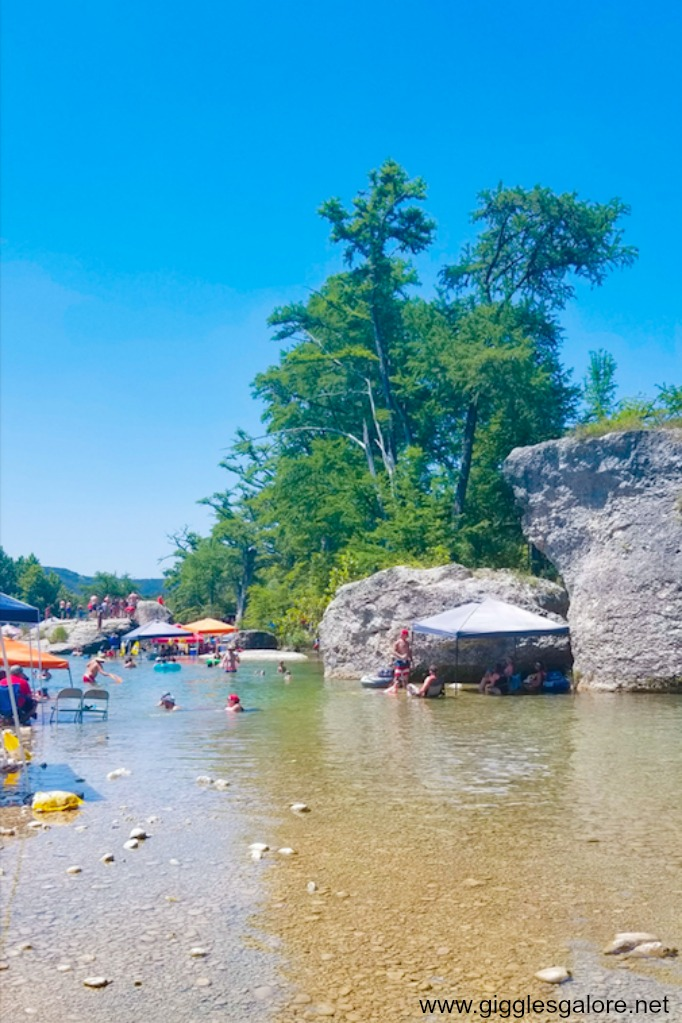 Floating on the Frio River by Mariah Leeson