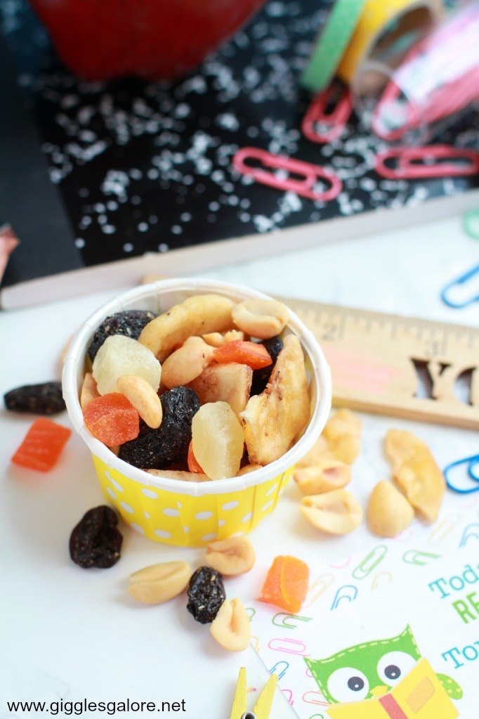 Back to School Trail Mix
