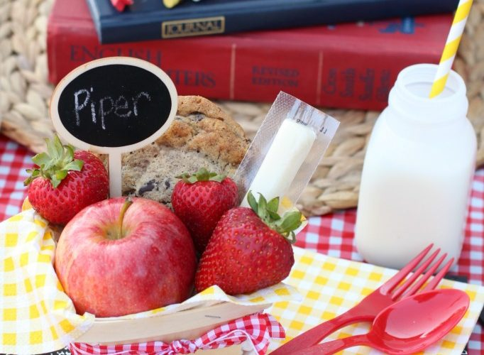 Back to school picnic baskets