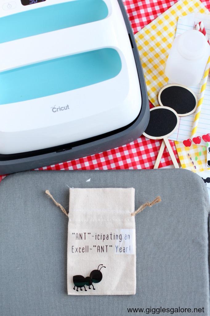 Cricut EasyPress Favor Bags
