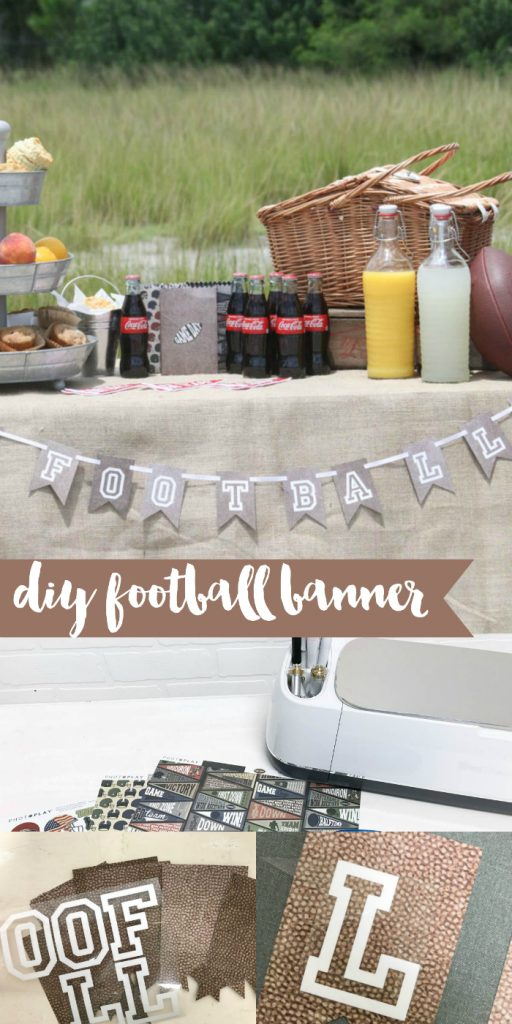 Everyday party magazine diy football banner