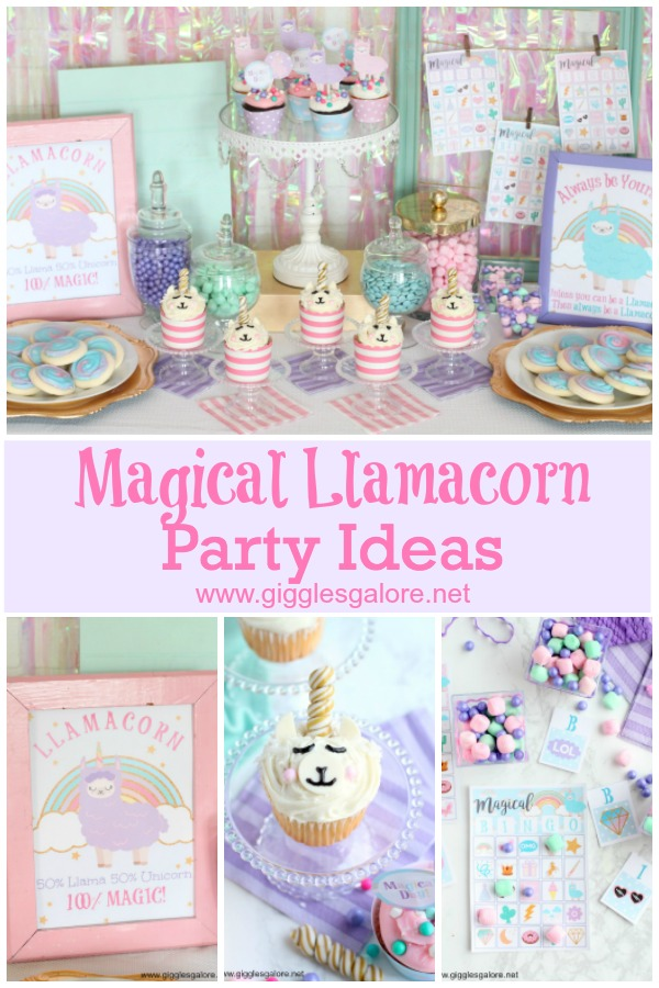 Magical Llamacorn Party Ideas