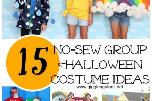 15 No-Sew Group Halloween Costume Ideas