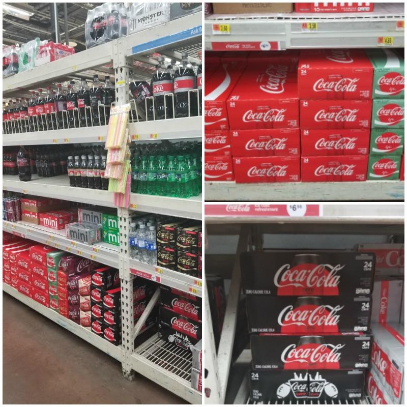 Coca cola in store photo