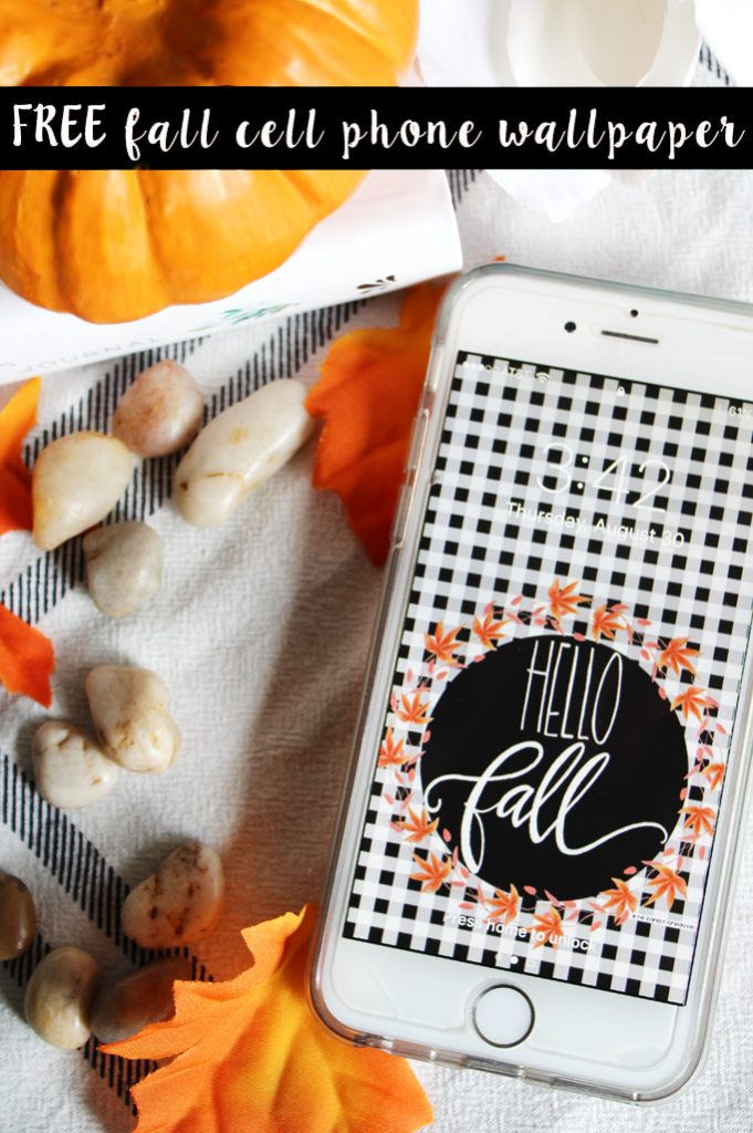 Fall cell phone background header