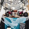 Gothic glam murder mystery dinner party