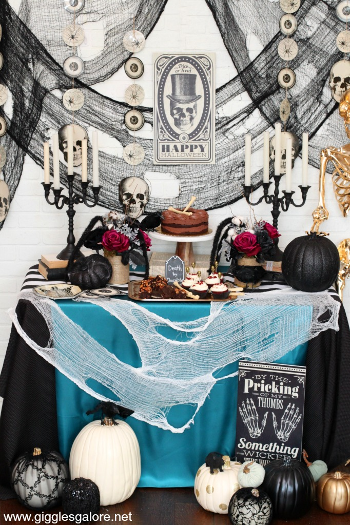 Halloween Murder Mystery Dinner Party