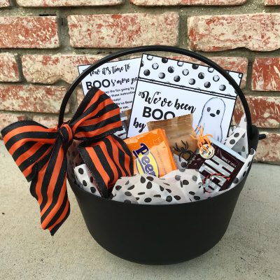 Spooky Halloween Boo S'mores Kits with Free Printable