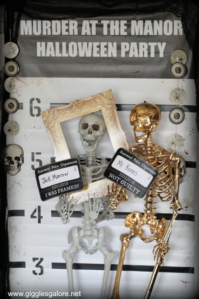 Halloween Murder Mystery Photo Booth