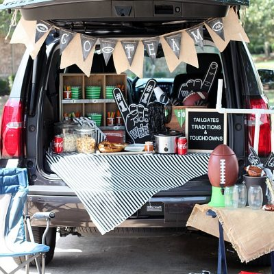 Easy Tailgate Snack and Party Ideas