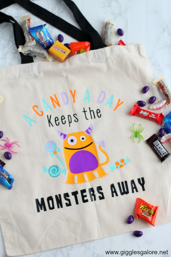 Candy trick or treat bag