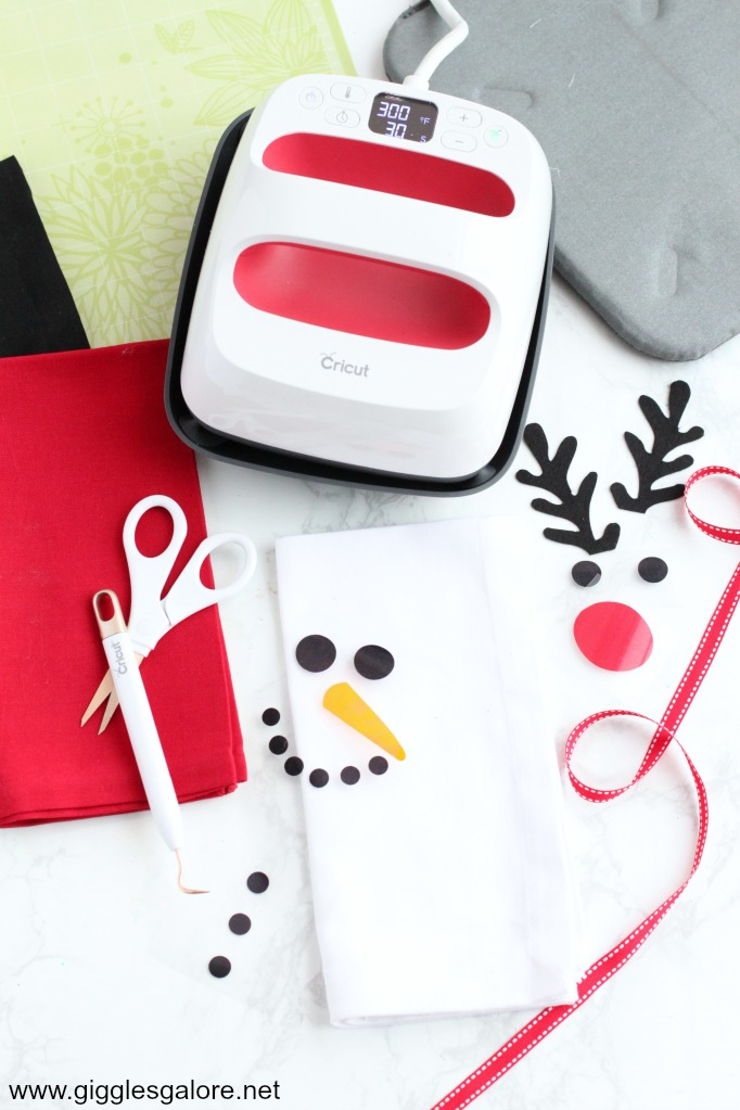 Diy snowman napkin supplies