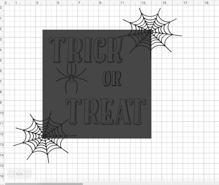 Everyday party magazine diy halloween sign 3
