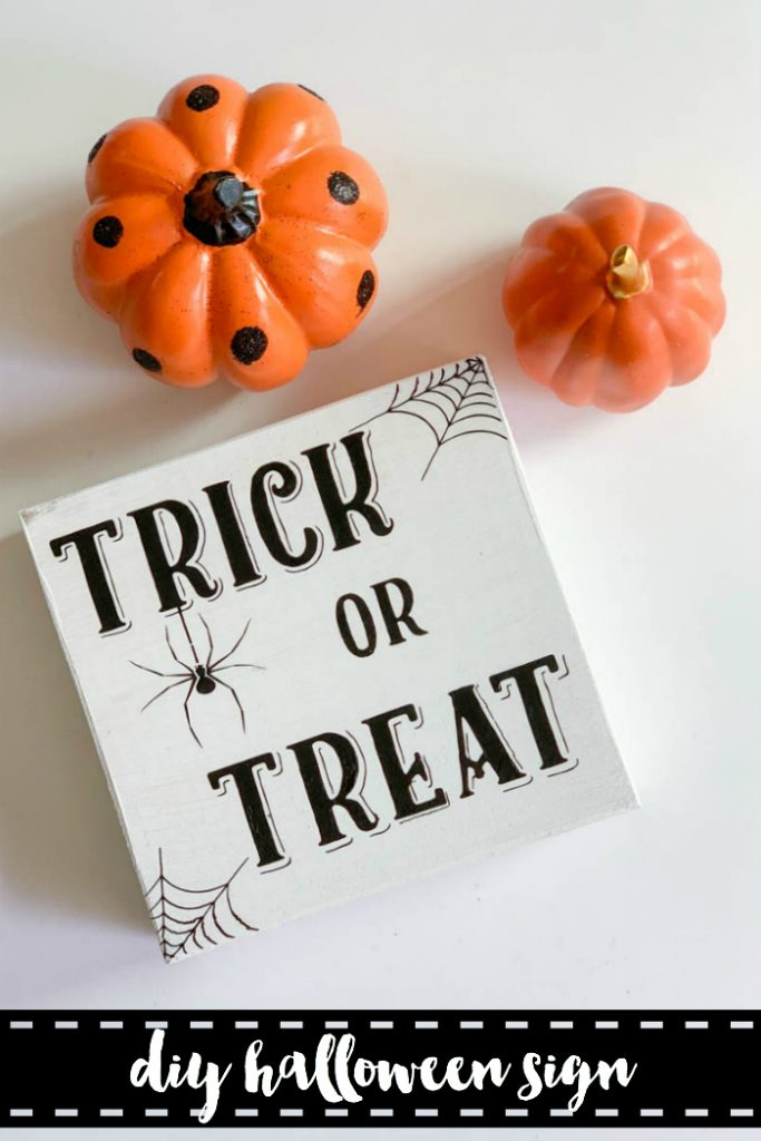 Everyday party magazine diy halloween sign