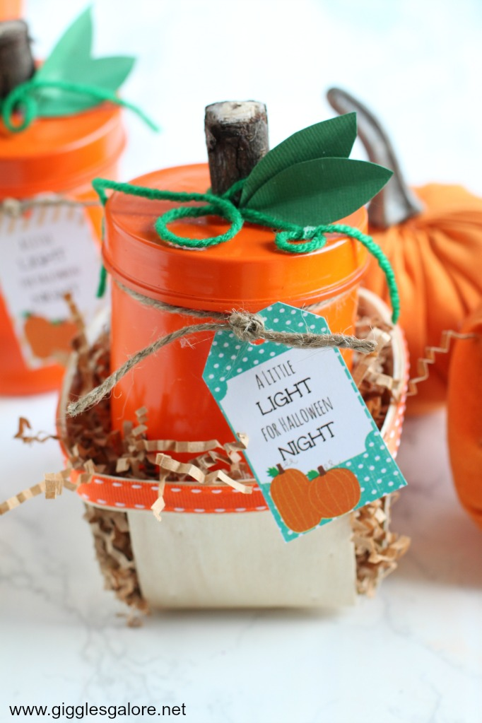 Pumpkin Carving Party Favors