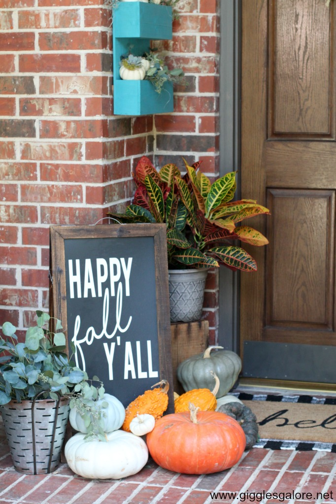 Happy fall yall porch