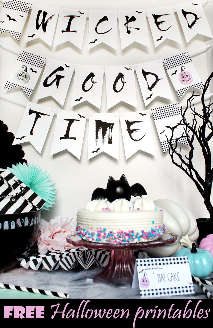 Wicked Good Time Free Halloween Printables