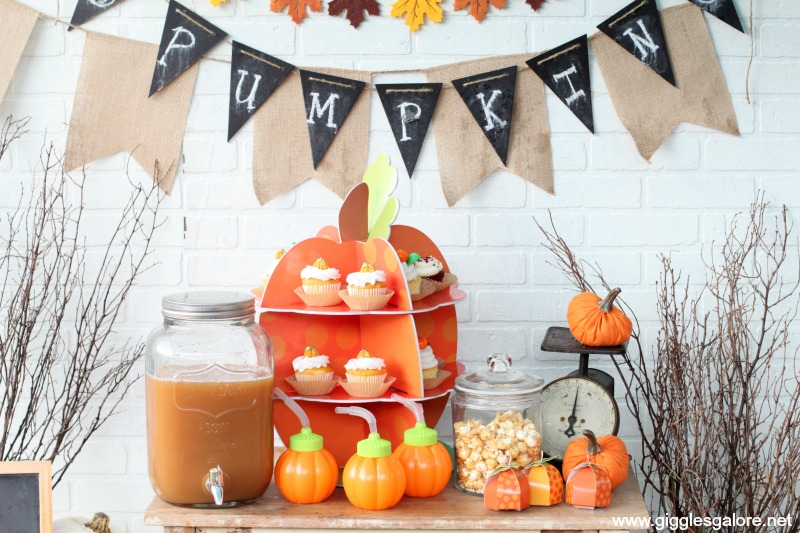 Pumpkin Party Dessert Table