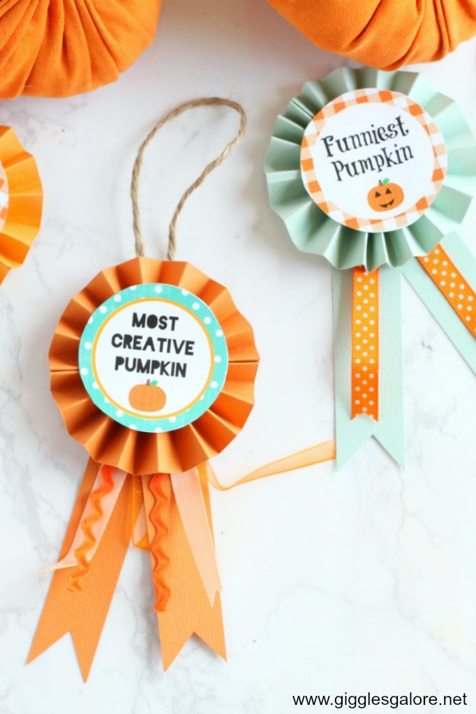 Free Printable Pumpkin Carving Party Awards