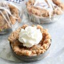 Mason Jar Lid Pies for Thanksgiving