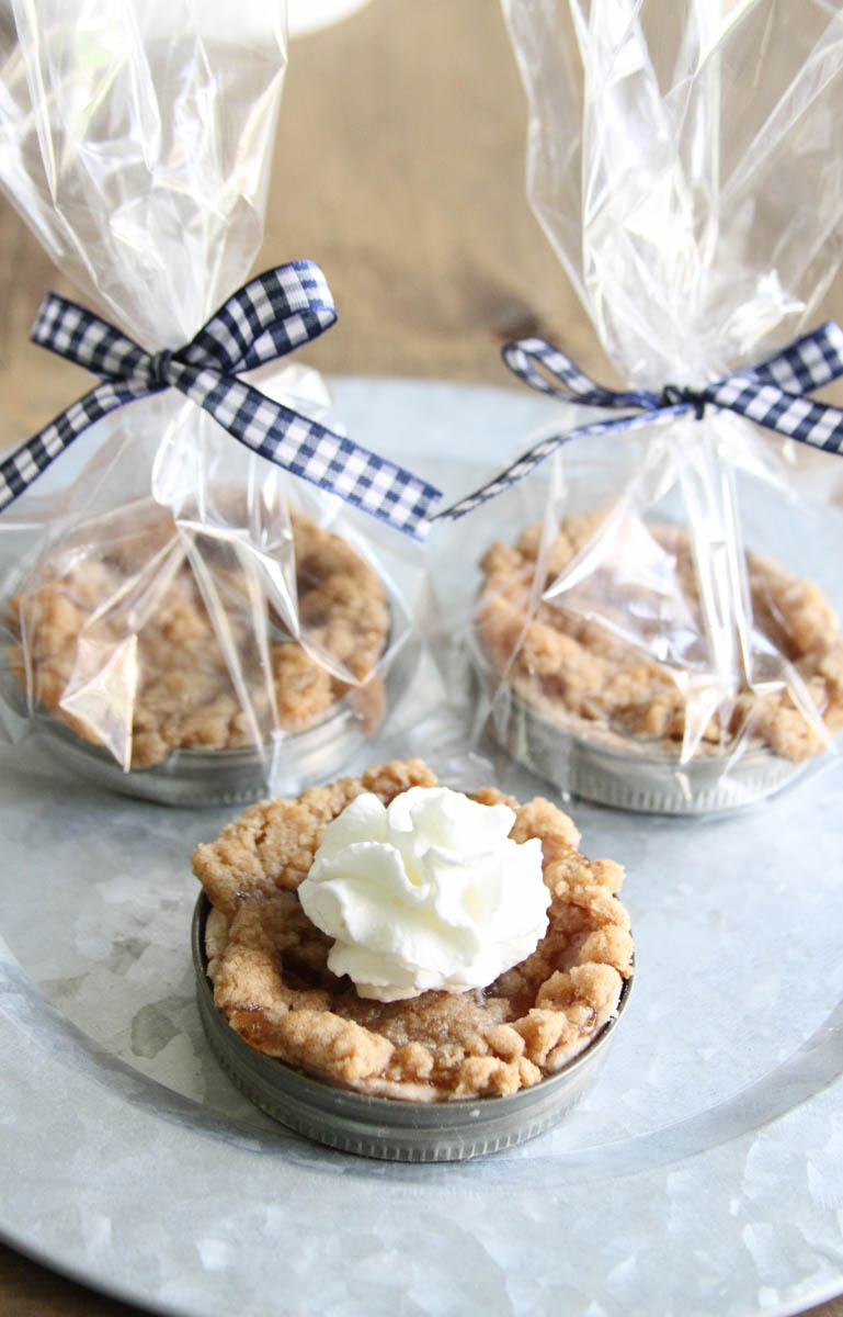 Mason Jar Pie Party Favors