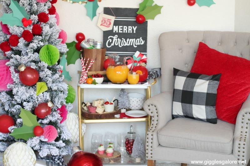 Cozy holly jolly holiday party